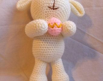 PDF Pattern Easter Buddies Lamb