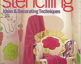 "Better Homes and Gardens ""Stenciling Ideas & Decorating Techniques"" Book"