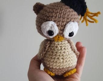 Crochet Owl, Crochet Graduation Owl, Graduation Gift