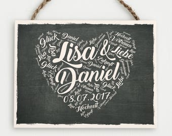 wedding gift, personalized wedding gift, mr and mrs, gift for wedding, wooden sign wedding, just married