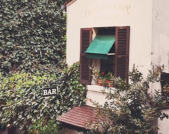 Troubadour - Paris Landscape Photography Print