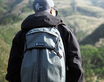 PIPE -T1 backpack (fuctional/lightweight/weatherproof)- Gray