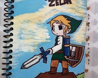 Link from Legend of Zelda Notebook