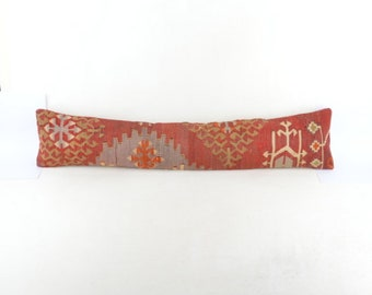 Kilim pillow cover 32x7  inc. For WINDOWS  or DOORS