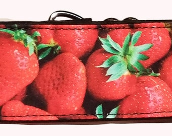 Strawberries Martingale Collar