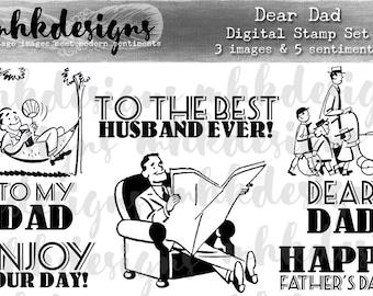 Dear Dad Digital Stamp Set