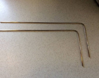 Lot of 10 Sets of Brass Dowsing/Divining Rods ~ Water Witching ~Spiritual