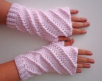 MOTIF - mitaines au Crochet Chantilly - livraison internationale gratuite