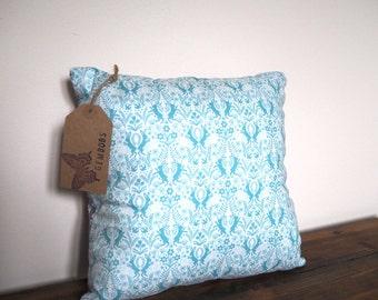 Blue Cushion / Pillow. Decorative Pillow Cover 13 inch Cushion Cover