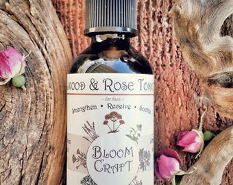Sandalwood & Rose Tonic Water for face