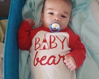 Baby Clothes - Country Baby Bear Shirt - Cute Baby Clothes - Trendy Clothes - Designer Baby Clothes - Kids Clothes - Cute Baby Boy Clothes