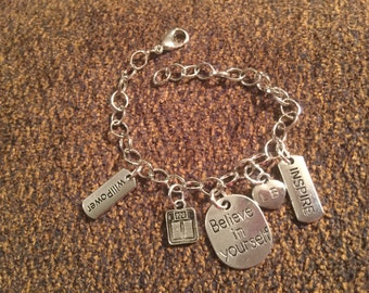 Weight Loss Inspiration Charm Bracelet