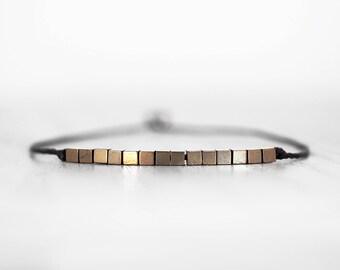 Dainty bracelet Dainty stone bracelet Gold color stone bracelet Delicate bracelet Friendship bracelet Minimalist bracelet Dainty jewelry
