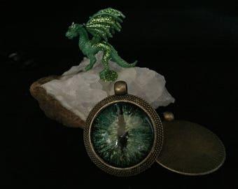 SOLD!   Dragon Eye, Fantasy Glass Dragon Eye, Steampunk, Sci Fi, Cosplay, Mystic, Mythical and Magical
