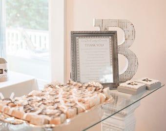 36 wedding favors, baby shower favors, soap favors