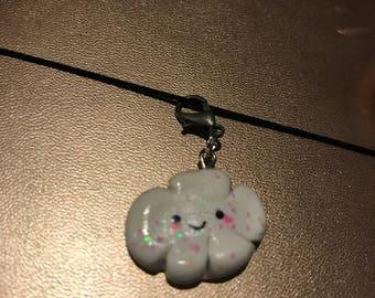 Cute cloud charm