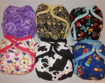 6 Diaper Covers