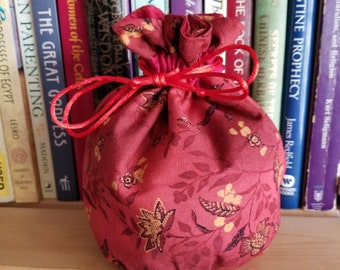 My Pretty Dice Bag - Fall Floral Edition