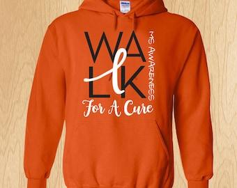 "Multiple Sclerosis ""Walk"" Sweatshirt"