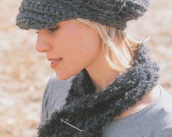 Winter cap women cap crochet cap grey beret Knitted cap grey cap green pink hat bordeaux cap black hat purple hat MANY COLORS Drops Lilith