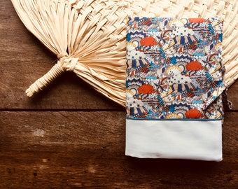 Health Book LIBERTY of London for boy - newborn gift - cover book of health - essential baby - baby accessory