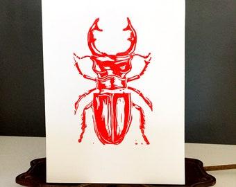 Beetle Print 2