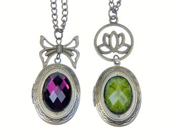 Oval Necklace Locket