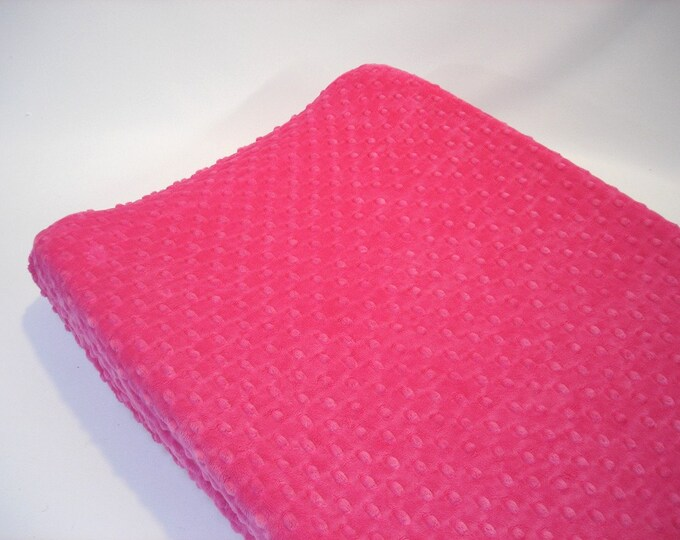 Hot Pink Changing Pad Cover
