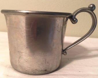 Kirk Stieff Pewter chilld's mug - Pewter