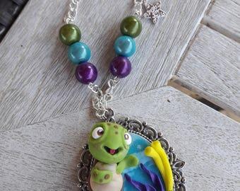 FIMO Flicker Necklace