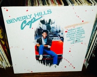 Beverly Hills Cop Vintage Vinyl Soundtrack Record
