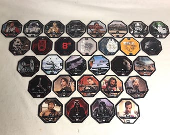 Card collectible STAR WARS Rogue One the clock the Force 30 cards