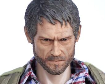 The Last of Us Joel 1/6 Scale Custom Painted Head Sculpt