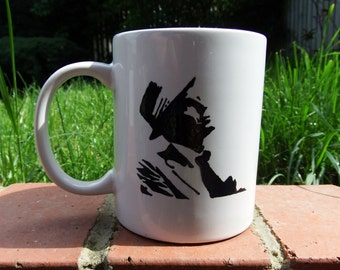Hand painted mug inspired by Frank Sinatra