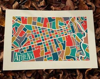Athens GA Map