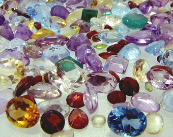 Gemstone Mixed Lot - Wholesale loose stones - You pick carat weight