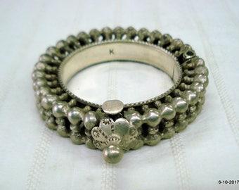 vintage bracelet antique bracelet tribal old silver bangle bracelet jewelry