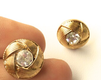 Rope & Stone Stud Earrings. 3 Sizes Available. Choose 10mm,13mm, or 15mm. FAST Shipping with Tracking for US Buyers. Gift Box Included.