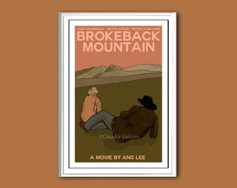 Brokeback Mountain movie poster print in various sizes