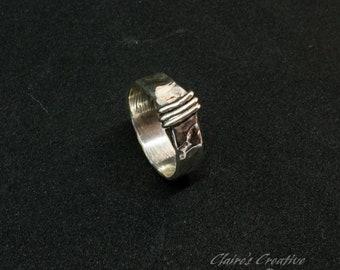 Mens Outlander Ring/ Scottish/ Highlander/Outlander Gift/Key Ring/Outlander Jewelry/Unisex/ Couples Ring/ Wedding/ Engagement/ Promise Ring/