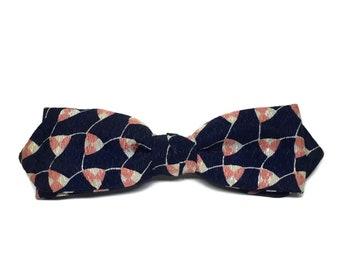 Stylish Retro Mens Clip Bow Tie