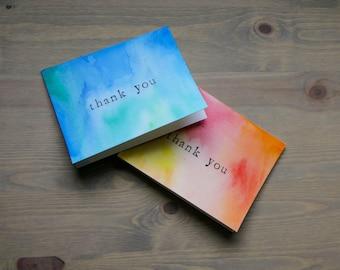 5 Handmade Thank You Cards