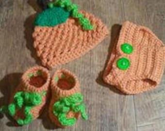 Newborn Pumpkin set