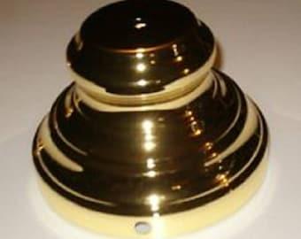 Brass Colored Lamp Base ,Lamp Repair, Vintage Lamp Parts