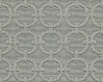 Coral and Grey Upholstery Fabric Abstract Yellow Grey Fabric