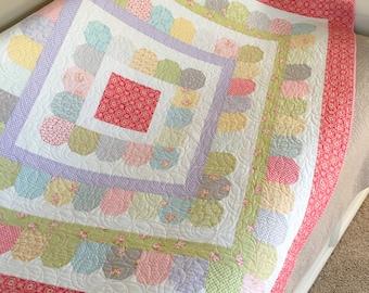 PAPER Pattern: Gumdrops (Layer Cake Quilt)
