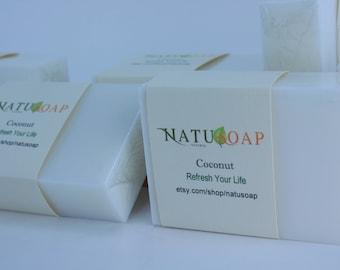 Coconut Soap - Vegan Soap - Natural Soap - Handmade _