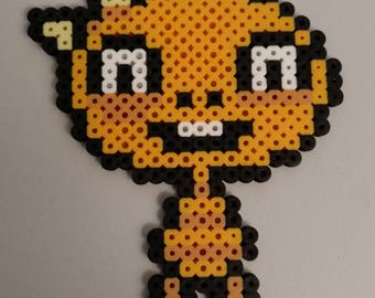 Undertale Monster kid perler bead pixel art sprite