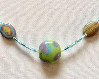 Spring, Easter, Tween, Easter Jewelry, Spring Jewelry, Tween Jewelry, Easter Necklace, Kids Necklace, Spring Necklace, pastel jewelry