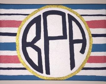 Stripe Monogram